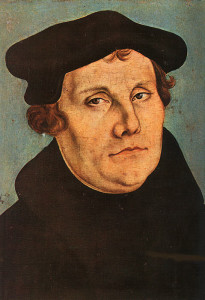 Portrait of Martin Luther (1483–1546) Work of Lucas Cranach the Elder (German, 1472–1553) Oil on wood