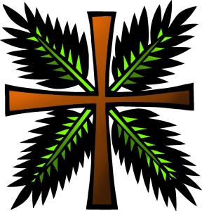 Icon1 Passion Palm Sunday 01 (Color) (Clip Art)