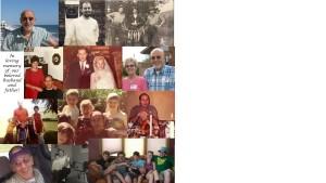 Smiley Brunett photo collage