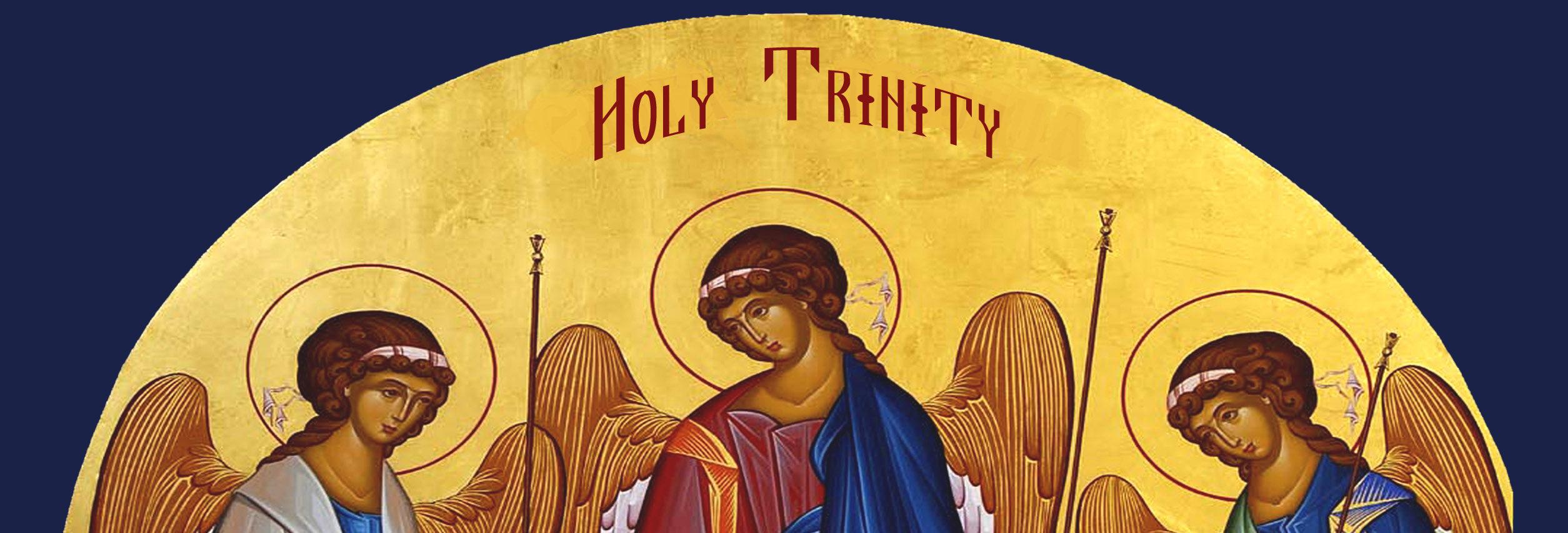 Bulletin for Sunday, May 27, 2018 – The Holy Trinity