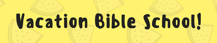 VBS 2018 is coming!